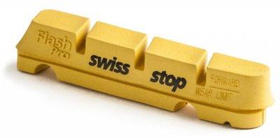 SwissStop Flash Pro Geel Shimano/Sram (4x)